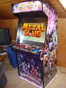 Arcade Automat - Folienbeklebung